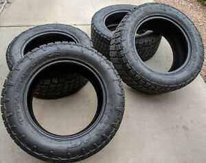 Nitto At Terra Grappler G2 305 55 20 Set Of 4 Slightly Used