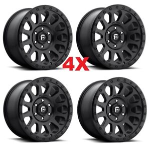 17 Black Wheels Rims Fuel Vector Method Rhino