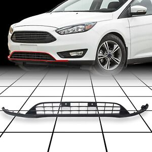 Fits 2015 2018 Ford Focus Front Bumper Lower Valance Panel Grill For F1ez17626a