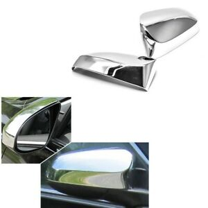 For 2012 2017 Toyota Camry Chrome Mirror Covers Trims W O Turn Signal Cutout