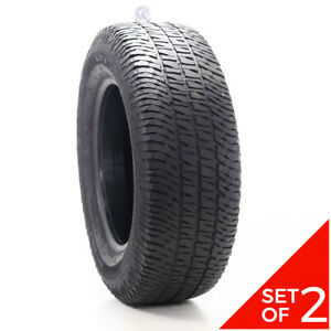 Set Of 2 Used 275 65r18 Michelin Ltx A T2 114t 5 5 6 32