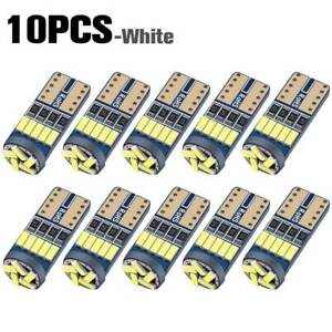 10x T10 Led Canbus Error Free Bulb 15smd 194 W5w Car Wedge Lamp Dome Map Light B
