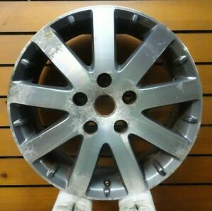 Chrysler Town And Country 2008 2009 17 Oem Rim Wheel Machined Charcoal 2332