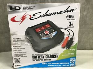 Schumacher 800 Amp Li Ion Jump Starter Power Pack For V8 Engine Sl1315