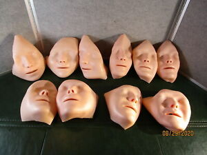 10 Laerdal Anne Cpr Mannequin Replacement Faces