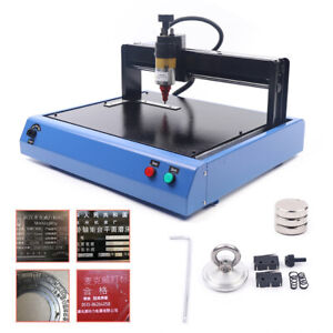 Cnc Electric Machine Nameplate Metal Plate Marking Machine Marker Embossing 110v