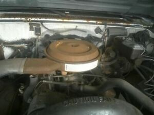 Motor Engine 8 350 5 7l Gasoline Vin K 8th Digit Fits 87 96 Chevrolet 30 Van 227