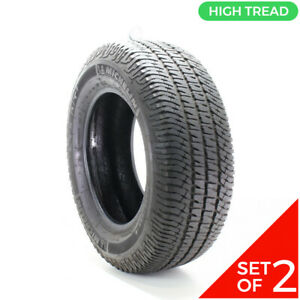 Set Of 2 Used 275 65r18 Michelin Ltx At2 114t 10 5 12 32