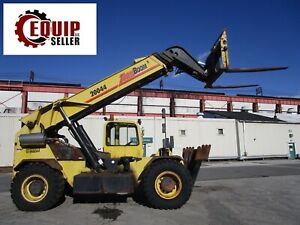 Zoom Boom Zb20044 44 20 000lb Telescopic Boom Truck 4x4 Forklift 44ft Height