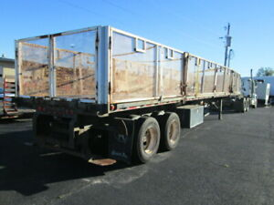 2002 Great Dane Gpm 245 48 X 102 Flatbed Trailer