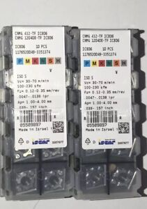 Brand New cnmg 432 Tf Ic806 Iscar 10 Inserts Factory Pack