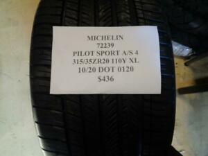 1 New Michlein Pilot Sport A S 4 315 35 20 110y Xl Tire 72239 Q0