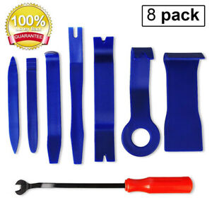 Car Trim Removal Tool Kit Set Door Panel Fastener Auto Dashboard Nylon Hand Tool