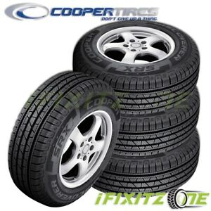 4 Cooper Discoverer Srx 265 70r16 112t Owl All Season M S Touring Tires Cuv Suv
