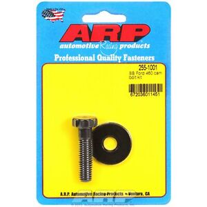 Arp 255 1001 Cam Bolt Kit Bb Ford 460 8740 Chrome Moly Black Oxide
