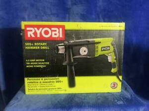 New Ryobi Sds Rotary Hammer Drill Model Sds65 New Nisb Free Shipping
