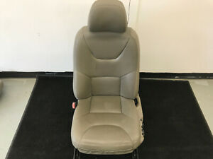 05 07 Volvo Xc70 Left Drivers Front Seat Oak Leather B890