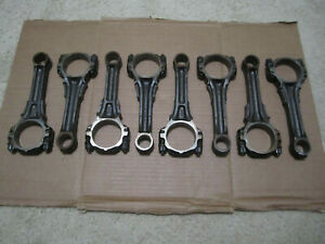 1972 Buick 350 Motor Engine Connecting Rod Set Of 8 Skylark Lesabre Gs 1970 1971