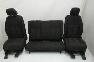 2011 17 Jeep Wrangler Driver Right Front Seat Lhd Bucket Manual Rear Seat Cloth