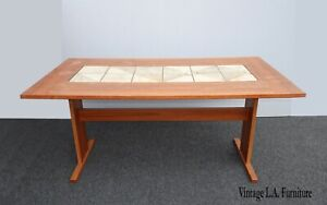 Vintage Danish Mid Century Modern Dining Room Table By Gangso Mobler