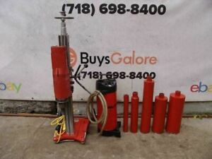 Hilti Dd 160 Core Drill Rig With Bits Water Tank Works Fine