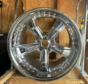 American Racing Razor Chrome Wheel Shelby 20x9 Fit 05 09 Mustang Set Of 4 Rims