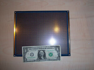Double side Prototype Pcb Board 23cm X 19cm the Big Boy Enig Finish Usa