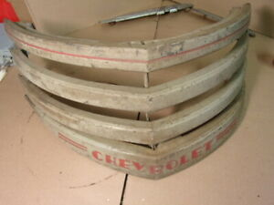 Vintage Original 1942 1946 1947 Chevy Pickup Truck Upper Grille Section