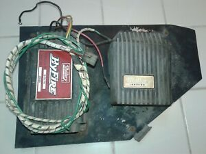Vintage Mallory 29440 Ignition Coil 29026 Hyfire Control Box