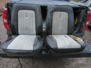 Ford Bronco Black Bucket Seats 1970 S Eary 80 S