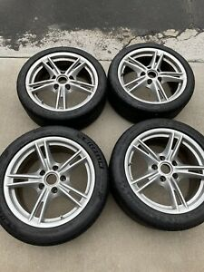 Porsche Oem Cayman S Wheels Tires Tpms18in Staggered Boxster