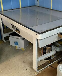 Industrial Light Table For Print Shop