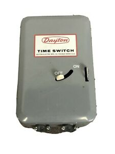 Dayton Time Switch Electric Water Heater 40 Amp 24 Hour 1a573