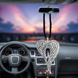 Car Pendant Lucky Wings Hanging Angel Wing Rearview Mirror Decoration Ornaments