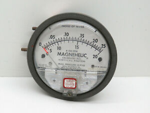 Dwyer Magnehelic 2000 00av Differential Pressure Gauge