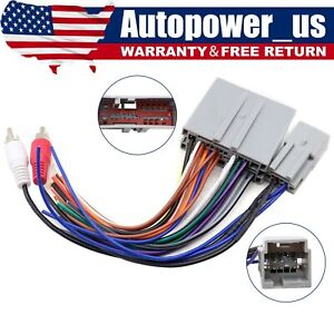 Car Stereo Radio Wiring Harness Adapter Plug Fit For Ford Explorer F150 F250 350