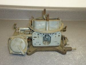 Holley 4150 g 4 barrel Carburetor Carb Main Body Baseplate 4186 Ford Truck 391