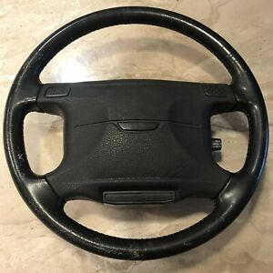 Oem Mitsubishi 3000gt Dodge Stealth 91 93 Steering Wheel With Bag Cover