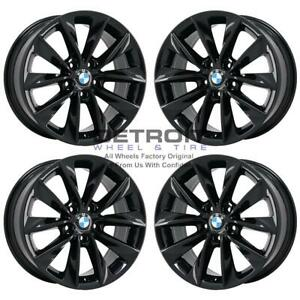 18 Bmw X3 Gloss Black Exchange Wheels Rims Factory Oem 71476 2004 2018