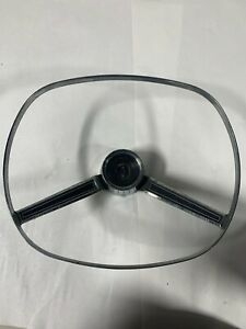 1963 1964 Chrysler New Yorker Steering Wheel Horn Ring Horn Button Emblem