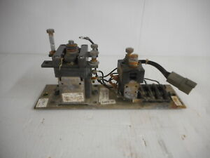 General Electric Contact Assembly P n 1466921 From Hyster J35xmt2 Fork Lift