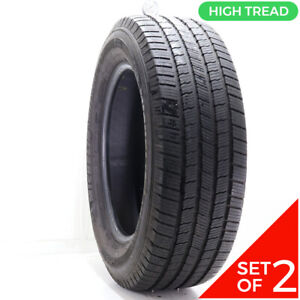 Set Of 2 Used 275 60r20 Michelin Defender Ltx M S 115t 9 32