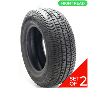 Set Of 2 Used 275 65r18 Michelin Ltx A T2 114t 10 32