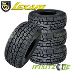 4 Lexani Terrain Beast At Lt265 75r16 120s Tires All Terrain 10 Ply Lre Truck