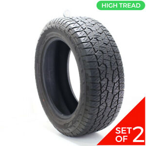 Set Of 2 Used 275 55r20 Hankook Dynapro Atm 113t 9 10 5 32