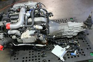 Nissan Skyline R34 Gtt 2 5l Turbo S2 Engine 5 Speed Trans Ecu Jdm Rb25det Rb25