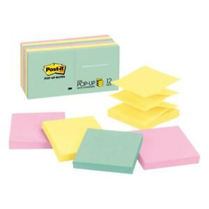 Post it Notes Refills 3 x3 100 Sht pd 12 pk Marseille