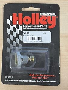 Holley 125 65 6 5 Single Stage Standard Flow Replacement Power Valve Gasket