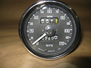Mg Smith Speedometer Sn5227 06s For 1968 71 Mgb Mgbgt Refurbished