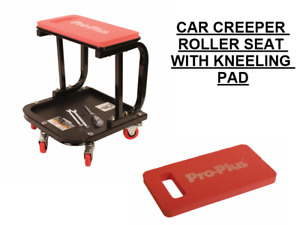 Mechanics Utility Seat Seat Roller Creeper Chair With Eva Kneeling Pad Easy Use